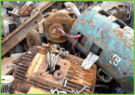 Scrap Metal Hauling and Recycling