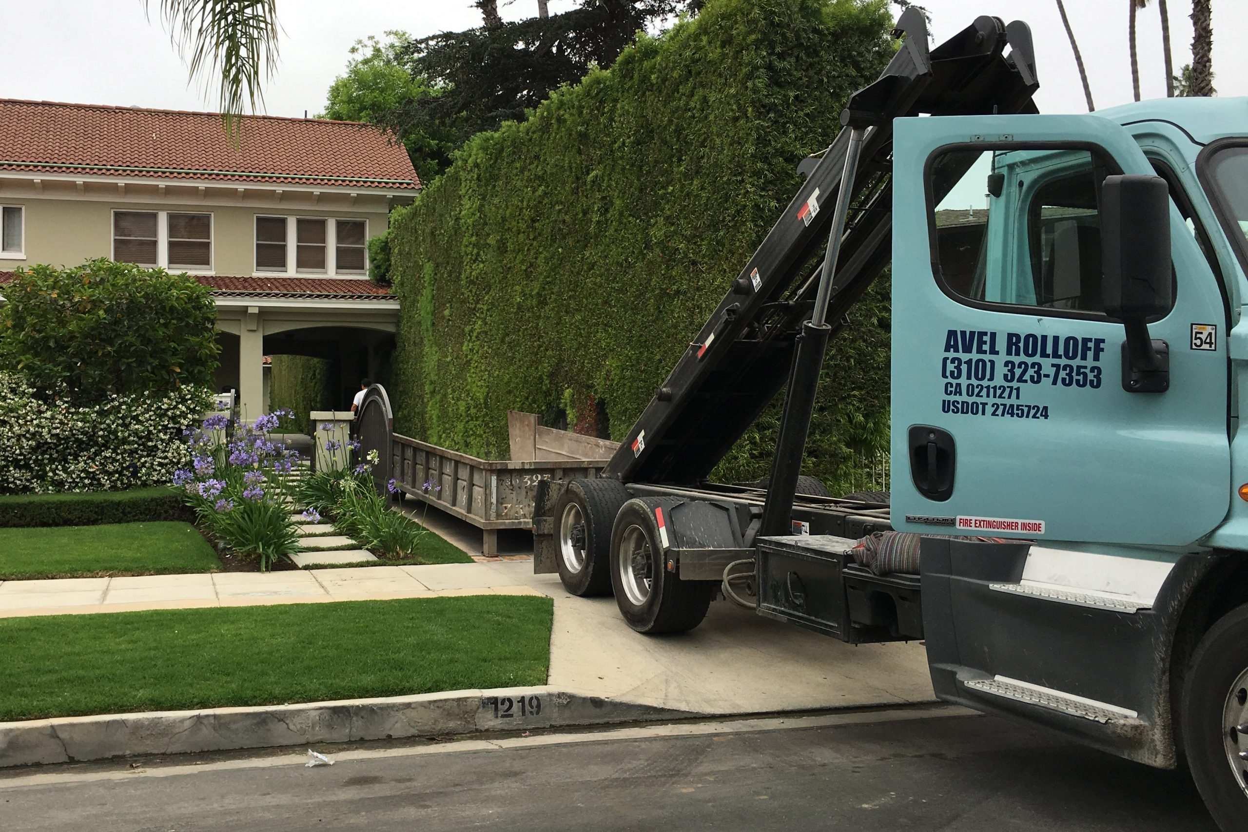 Los Angeles Residential Dumpster Rentals